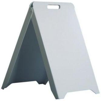 Chevalet PVC blanc FX50