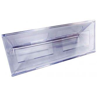 Chevalet porte nom plexiglas 250 x 90 mm PPK773