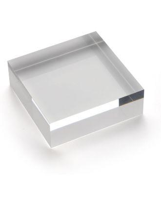 Bloc plexiglas d'agencement 75 x 25 x 75 mm