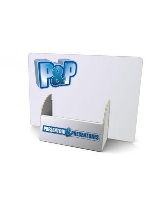 Présentoir A5 carton PCCLARGA5 personnalisé