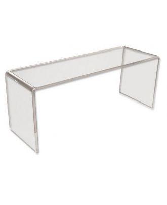 Podium plexiglas U rectangle 200 x 200 x 400 mm