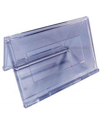 Chevalet porte nom plexiglas 55 x 90 mm PPK770