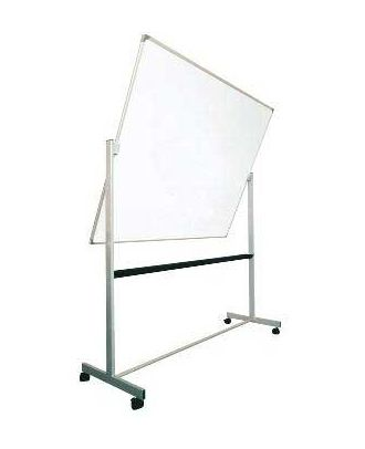 Tableau rotatif laqué 90 x 120 cm avec axe horizontal