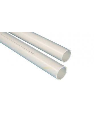 Visuel de Tube PVC 17-19 mm blanc avec et sans refente