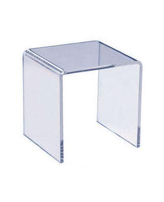 Podium plexiglas U carré 100 x 100 x 100 mm