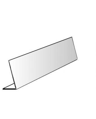 Vitrine plexiglas alimentaire 1 pli 75 x 20 x 40 cm