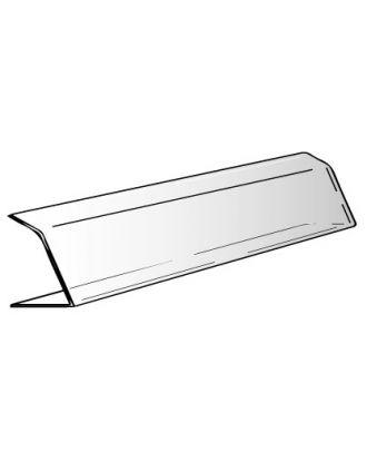 Vitrine plexiglas alimentaire 2 plis 100 x 20 x 20 cm